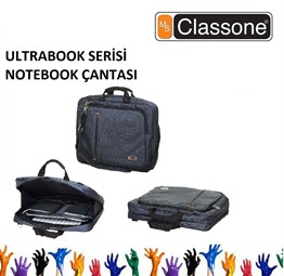 CLASSONE 13-14-15.6 Ultracase Serisi Lacivert Notebook Çantası UL161