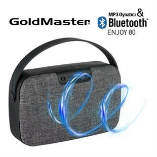 Goldmaster ENJOY-80 Bluetooth Mp3 Oynatıcı