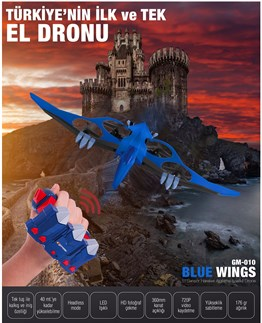 Goldmaster GM-010  BLUE WINGS DRON